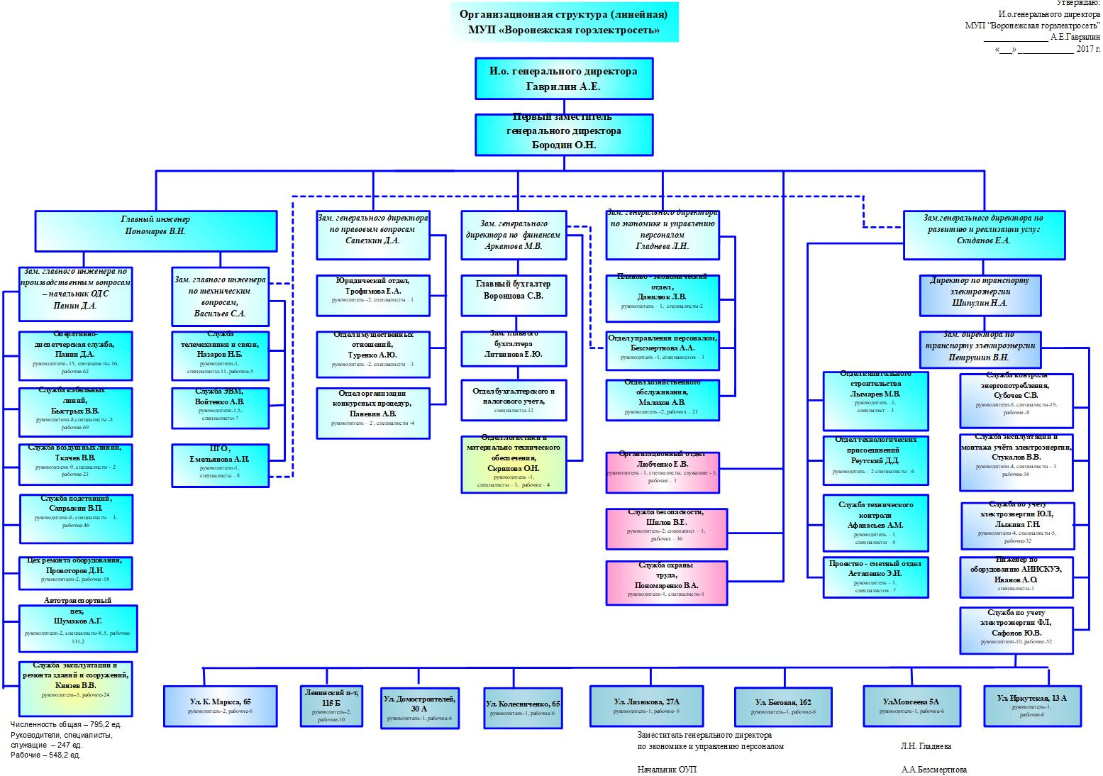 организационная деятельность курсовая